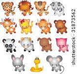 animals vector | Shutterstock .eps vector #31873562