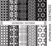 geometric vector pattern ... | Shutterstock .eps vector #318748232