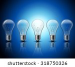 successful thinking and getting ... | Shutterstock .eps vector #318750326