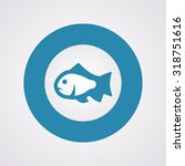 vector illustration of fishing... | Shutterstock .eps vector #318751616