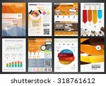 abstract vector backgrounds and ... | Shutterstock .eps vector #318761612