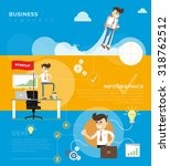 innovation concept of business... | Shutterstock .eps vector #318762512
