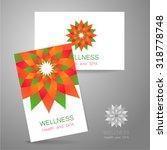 wellness logo. template design... | Shutterstock .eps vector #318778748