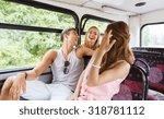 friendship  travel  vacation ... | Shutterstock . vector #318781112