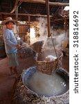 nan  thailand   dec 10 ... | Shutterstock . vector #318816692