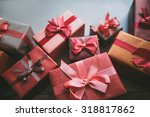 design boxes gifts. | Shutterstock . vector #318817862