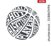 ball sports symbols of... | Shutterstock .eps vector #318865496