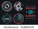 ui infographic interface web...