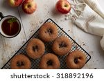 Cinnamon Donuts With Apple Cider
