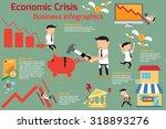 economic crisis infographics... | Shutterstock .eps vector #318893276