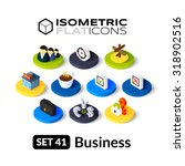 isometric flat icons  3d... | Shutterstock .eps vector #318902516