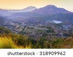 pinggan hill at bali island... | Shutterstock . vector #318909962