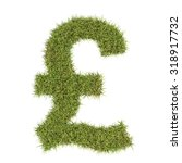 Pound Sterling Symbol Made Fro...