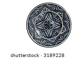 antique islamic charger... | Shutterstock . vector #3189228
