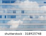 Cloud Reflected In Windows Of...