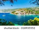 assos on the island of... | Shutterstock . vector #318935552