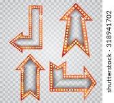 vector set of golden blank...   Shutterstock .eps vector #318941702