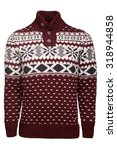 knited sweater | Shutterstock . vector #318944858