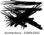 grunge frame vector template...