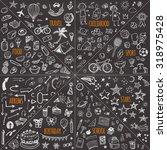 Mega Doodle Design Elements...