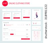 ui   ux kit for online clothing ...