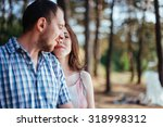 portrait of husband and wife   Shutterstock . vector #318998312