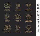 Set Of Beer Logotypes   Beer...