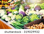 fresh organic vegetables at... | Shutterstock . vector #319029932