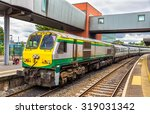 Intercity Train At Belfast...