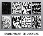 grunge handwritten backgrounds. ...