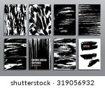 abstract grunge backgrounds and ... | Shutterstock .eps vector #319056932