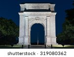 The Memorial Arch In Valley...
