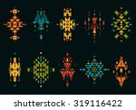 vector tribal elements  ethnic... | Shutterstock .eps vector #319116422