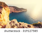 beautiful sea landscapes on... | Shutterstock . vector #319127585