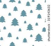 seamless christmas pattern. new ... | Shutterstock . vector #319143632