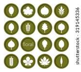 vector illustration  set of... | Shutterstock .eps vector #319145336