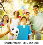 family happiness parents... | Shutterstock . vector #319155308