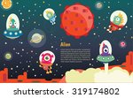 the universe kids   planets... | Shutterstock .eps vector #319174802