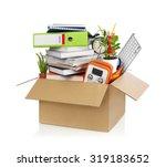box full of stuff   Shutterstock . vector #319183652