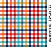 Colorful Checkered Gingham...