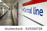 Central Line Sign. Direction...