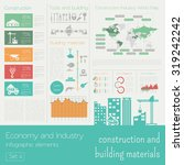 economy and industry.... | Shutterstock .eps vector #319242242