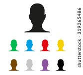 human profile picture    ... | Shutterstock .eps vector #319265486