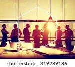 hexagon icon frame symbol copy... | Shutterstock . vector #319289186