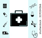 medical icons set | Shutterstock . vector #319334366