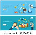 flat design illustration... | Shutterstock .eps vector #319342286