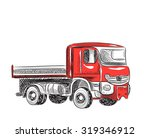 industrial transport | Shutterstock .eps vector #319346912