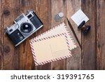 Vintage Post Card And Envelope...