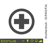 medical cross icon | Shutterstock . vector #319441916