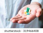 Medicine Pills Or Capsules In...